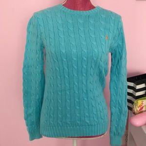 Ralph Lauren Classic Sweater in Teal